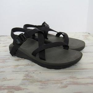 Chaco Z/1 Womens Sz 11 Black Strappy Sandals